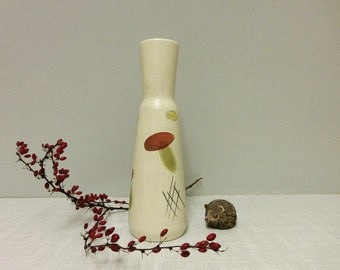 Bay pottery vase 661/25 mushroom decor 60s
