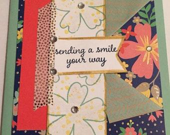 Stamlin' Up! Friendship card