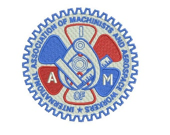 AIM embroidery design