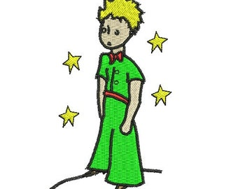 Petite prince embroidery design