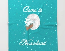 Disney's Peter Pan Inspired Come to Neverland Blanket