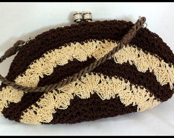 Vintage Purse Crocheted