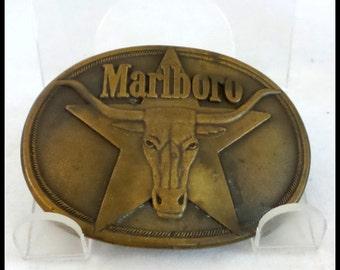 Vintage Marlboro Belt Buckle
