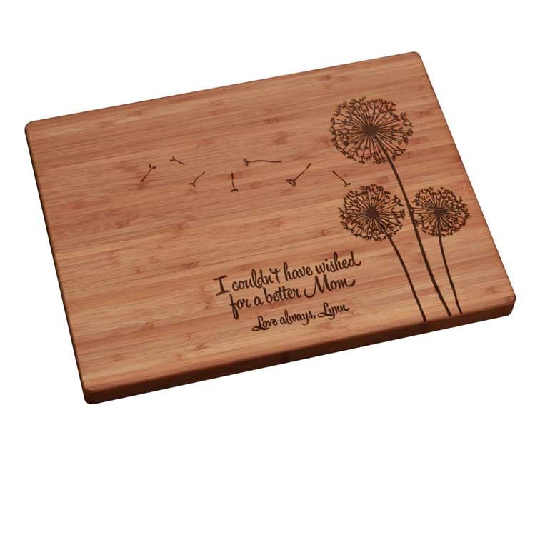 Mother 39 S Day Gift Personalized Engraved Cutting Board W