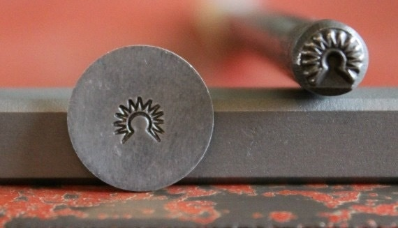 Indian Headdress Metal Stamp Perfect for Metal Stamping and Metal Jewelry Design Work  SGI-59