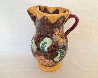 SHORTER & SON MABEL Leigh Period Ware Jug - Hand Crafted - Medina
