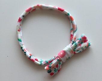 Printed loop headband