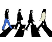 The Beatles - Abbey Road w/ color