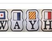 Sail Away Haynes Nautical Banner