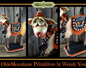 Miss Candy Instant Download Sculpting Pattern