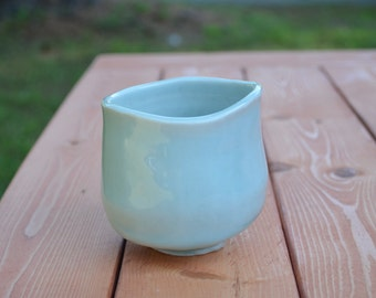 Blue Celadon Tea Cup