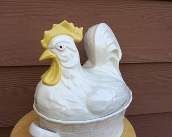Carbone rooster tureen