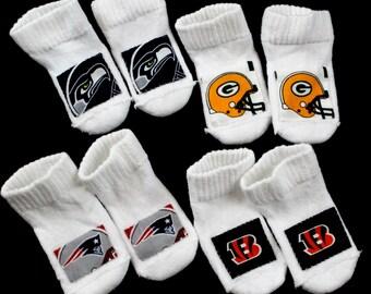 Infant's team socks 4 pairs