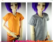 15% Off BJD SD 1/3 Doll clothing - V Neck Tee - Your Choice of 20 Colors