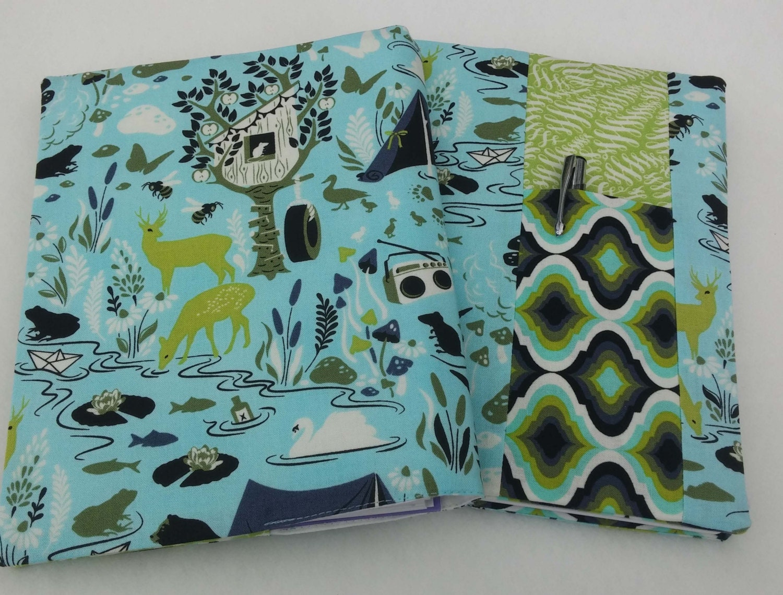 Visual Art Book Cover : Original handmade journal diary visual art book cover a