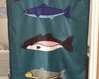 Fishing / Fisherman / Camping Large Decorative Flag