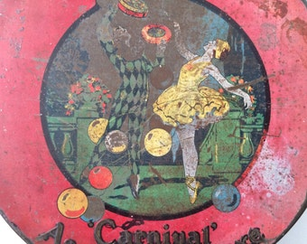 Vintage 1920's 1930's Mackintosh's Biscuit or Sweet Tin
