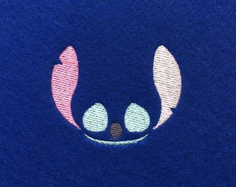 Stitch Embroidery Design Stitch Machine Embroidery Pattern Stitch Pattern Stitch Applique Stitch Design Sewing Needle Craft Blue Purple Lilo