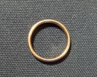 Vintage OSTBY BARTON 10K wedding ring