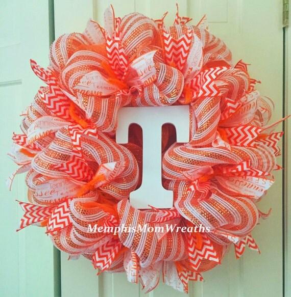 Was Ist Deco ut vols deco mesh wreath deco mesh wreath tennessee vols