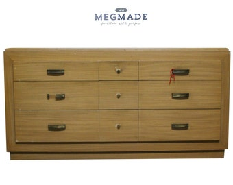 1022-02200 Customizable Mid Century Modern Dresser by MegMade