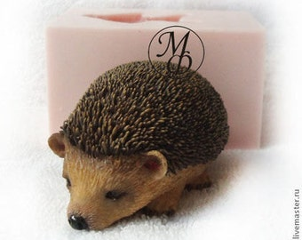 Silicone soap mold Little Hedgehog