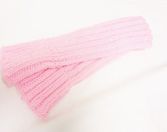 Handwarmers Hand warmers Fingerless gloves handknitted pink