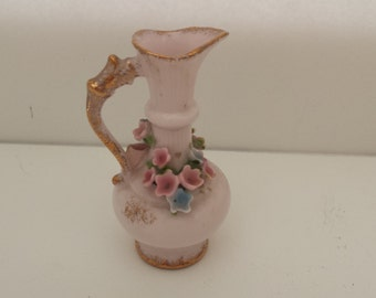 Norcrest Pink Ewer/Pitcher