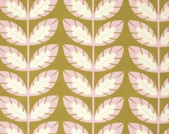 Heather Bailey Clementine 'Sprout' in Ginger Cotton Fabric