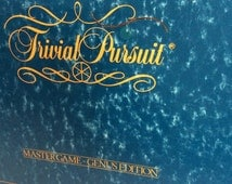 Clearance make an offer, Vintage trivial pursuit, master game genus edition 1981, trivial pursuit