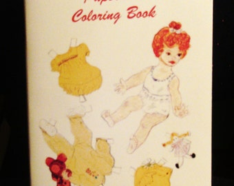 BittyBuddies Paper Doll Coloring and Cut-Out Book