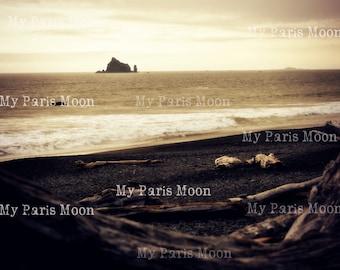 La Push; Altered Art; Digital Download; Travel Photography; Art Journaling