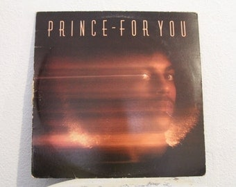 """Prince - """"For You"""" vinyl record"""