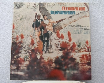 "The Pair Extraordinaire - ""It's A Wonderful World"" vinyl record"