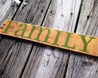 Family - Green