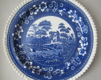 """Beautiful, Copeland Spode Tower 12.5"""" plate made in 1904"""