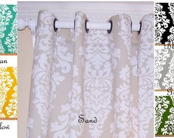 Curtains Ideas black and khaki curtains : Khaki curtains | Etsy