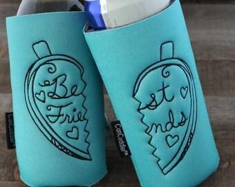 Best Friend Gift - Best Friend Birthday Gift - Gift for Her - Birthday Gift - Can Cooler Gift Set - Gift for Sister - Drinking Gift - BFF