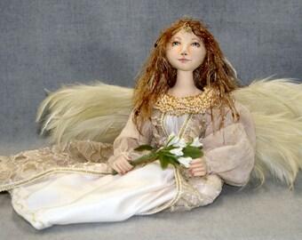 Seated Angel Cloth Doll Pattern
