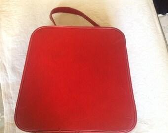 Vintage 1960s Red Vanity Case