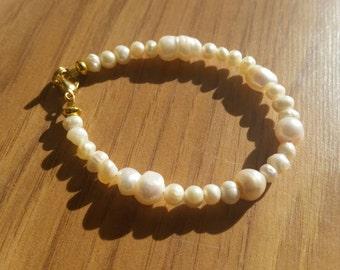 Vintage Freshwater Pearl Bracelet