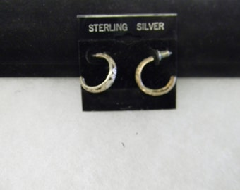 Elegant Fashion Fun Sterling Silver 925 Earrings #5774