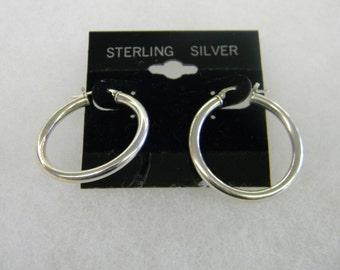 Sterling Silver 925 Snap Post pierced earrings #7020