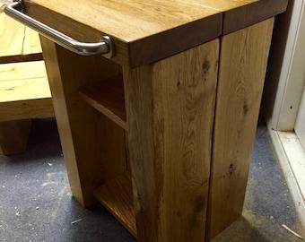 Oak washbasin stand