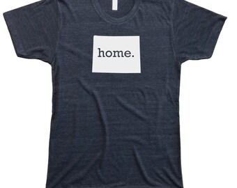 Homeland Tees Men's Wyoming Home T-Shirt