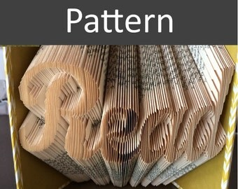 Read - Folded Book Pattern