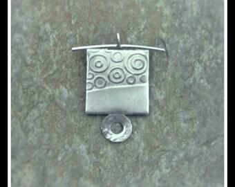 Silver Zen Pendant