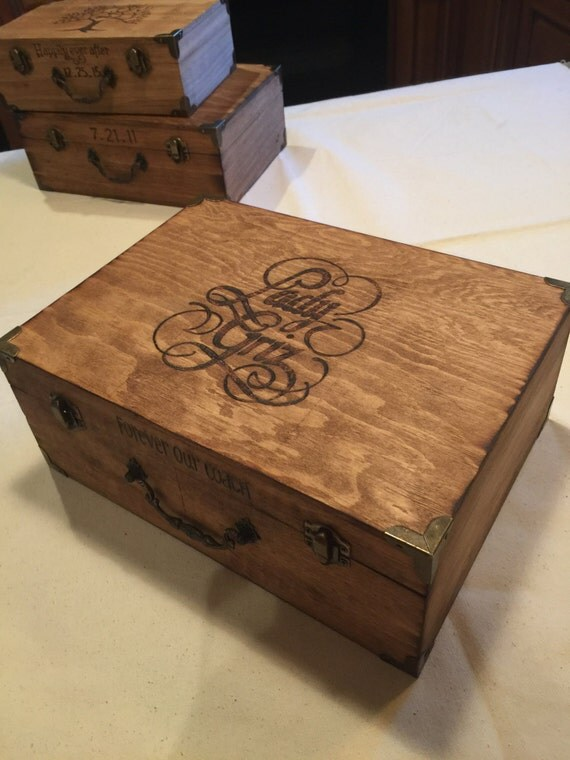 Wedding Gift Letter Box : ... Gift - Memory Box - Time Capsule - Love Letter box - Wedding Gift