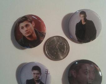 4 Dean Winchester buttons