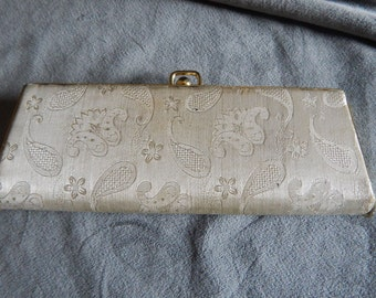 Vintage Silk Brocade Clutch